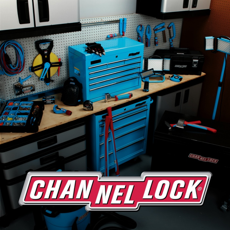 Channellock tool set with logo