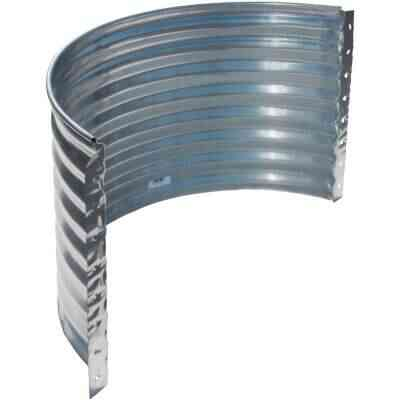 SPC 24 In. x 37 In. Round Galvanized Window Well