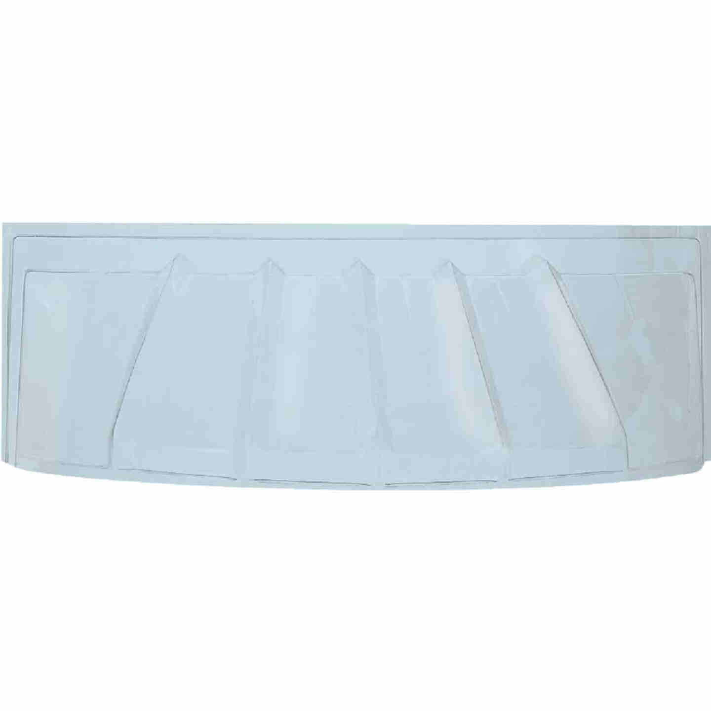 42 In. x 17 In. Bubble Plastic Window Well Cover Image 1