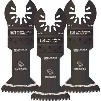 Imperial Blades ONE FIT 1-3/4 In. Japanese Tooth Precision Power Curve Hardwood Blade (3-Pack)