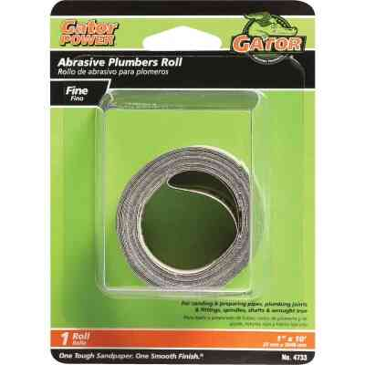 Gator 1 In. x 10 Ft. 180-Grit Plumber's Abrasive Sand Cloth