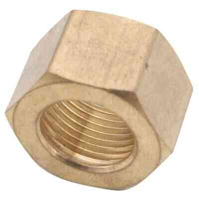 Anderson Metals 5/8 In. Brass Compression Nut (2-Pack)