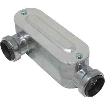 Southwire SimPush 3/4 In. EMT Push-To-Install Type-LR Conduit Body