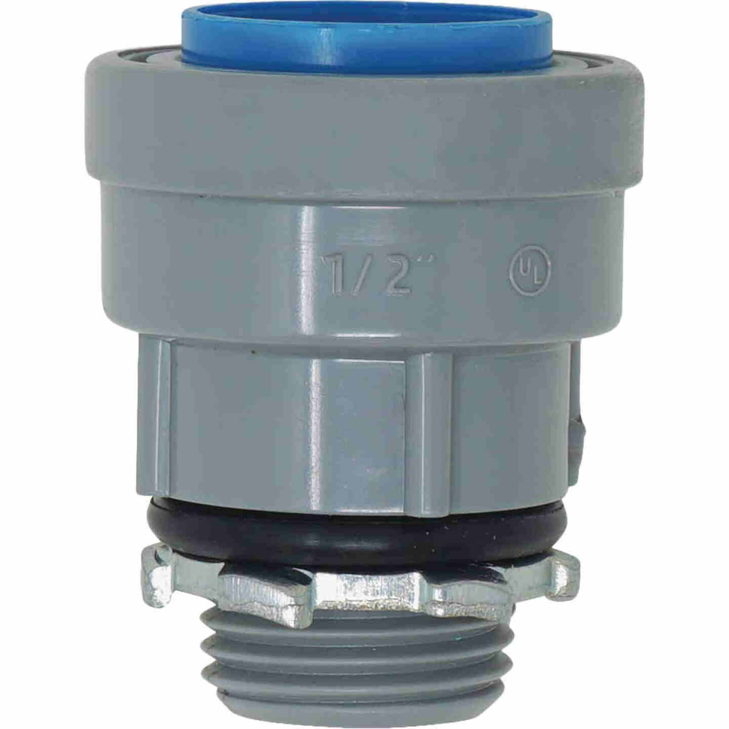 Southwire SimPush 3/4 In. PVC-CIC Push-To-Install Conduit Male Adapter Image 1