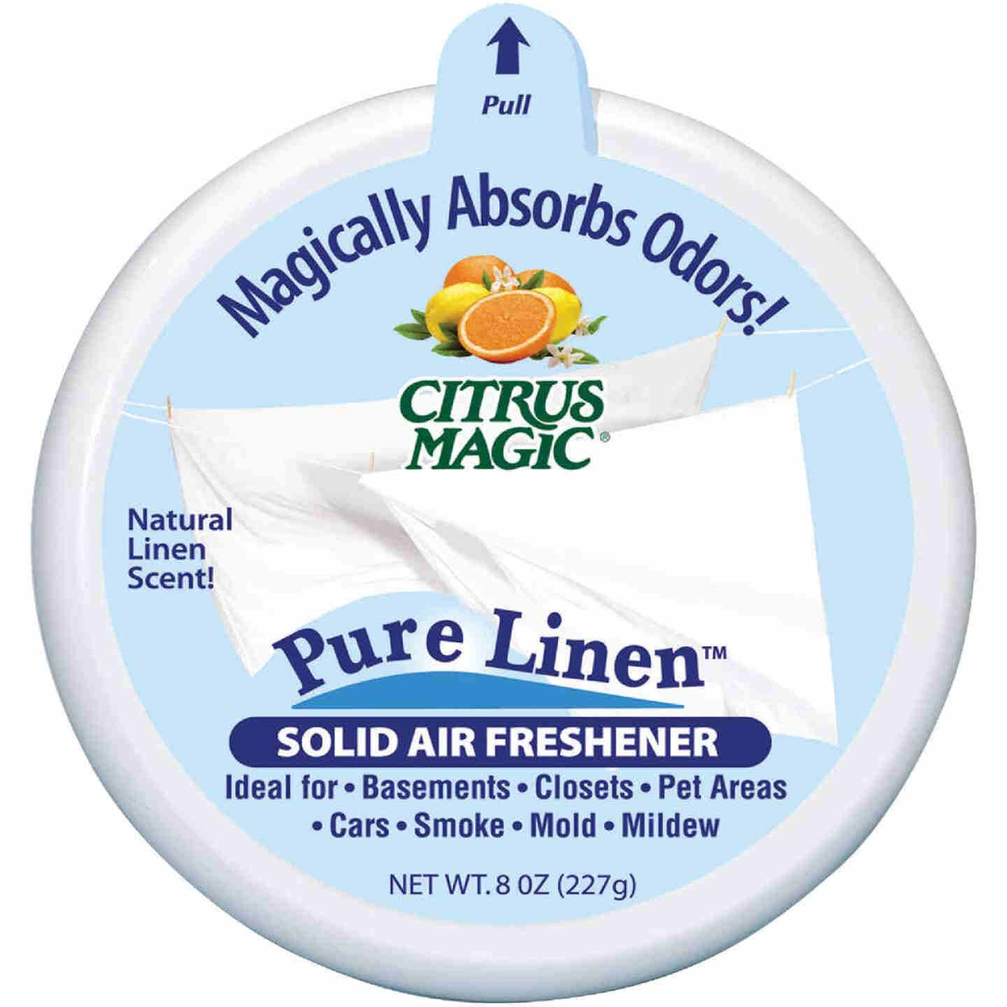 Citrus Magic 8 Oz. Pure Linen Solid Air Freshener Image 1