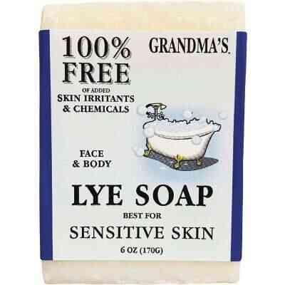 Grandma's Lye 6 Oz. Bar Soap