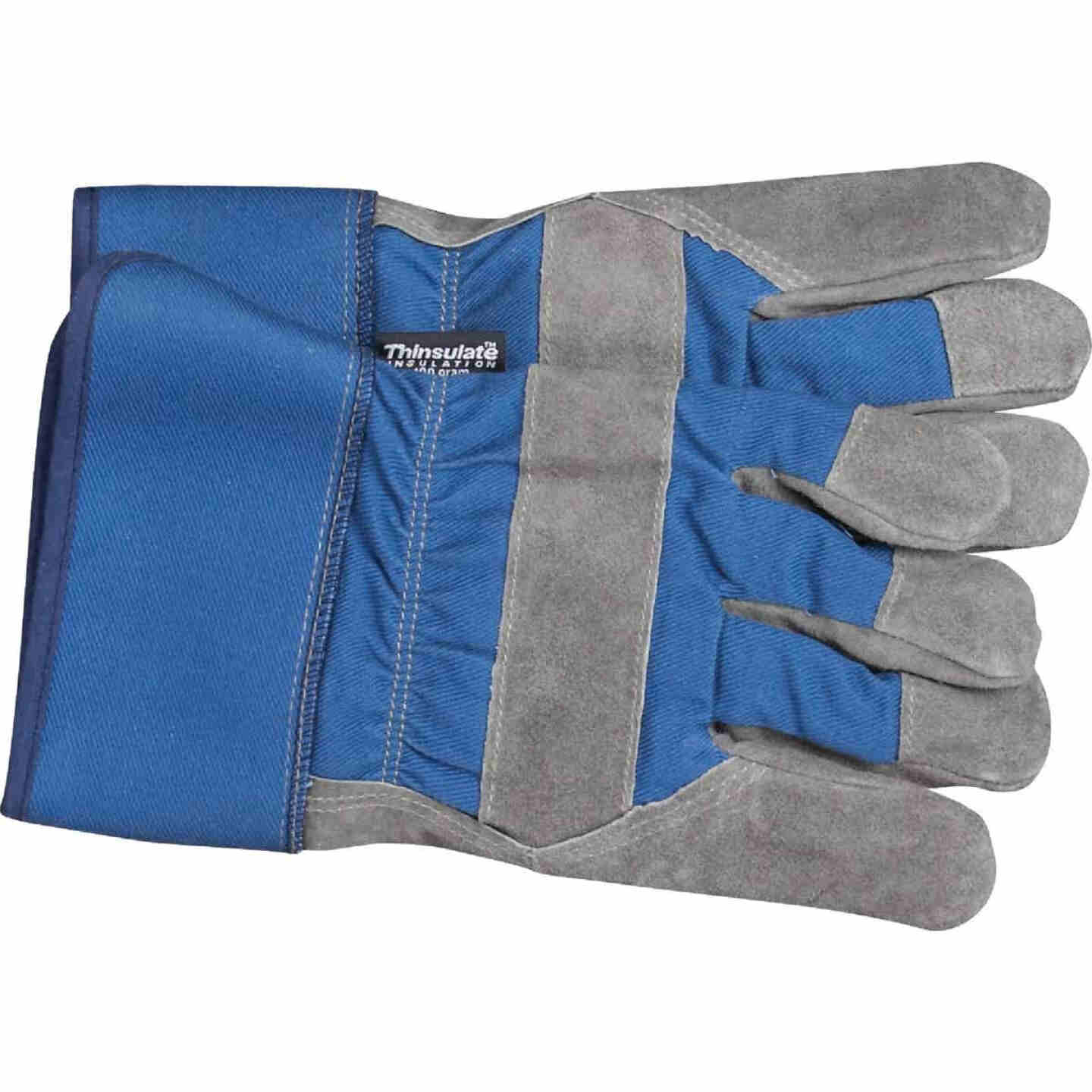 Do it Best Men's Large Leather Winter Work Glove Image 5