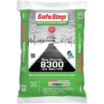 Safe Step 8300 50 Lb. Magnesium Chloride Ice Melt Crystals