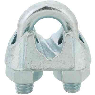 Campbell 5/16 In. Galvanized Iron Cable Clip