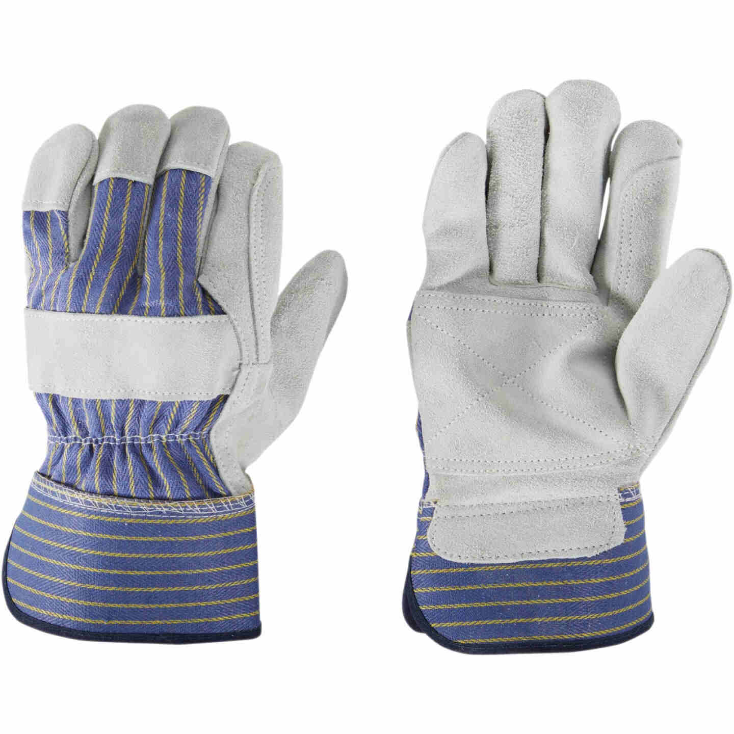 Do it Best Men's Large Leather Palm Work Glove Image 3