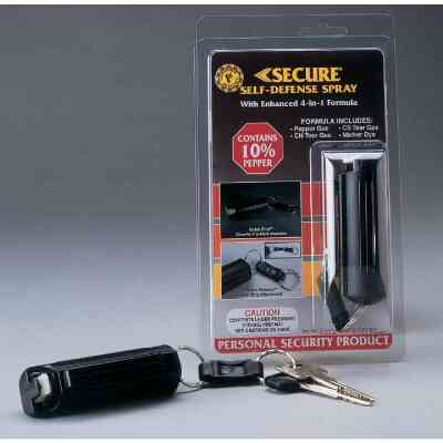 Secure 10% Pepper .5 oz Black Self-Defense Spray